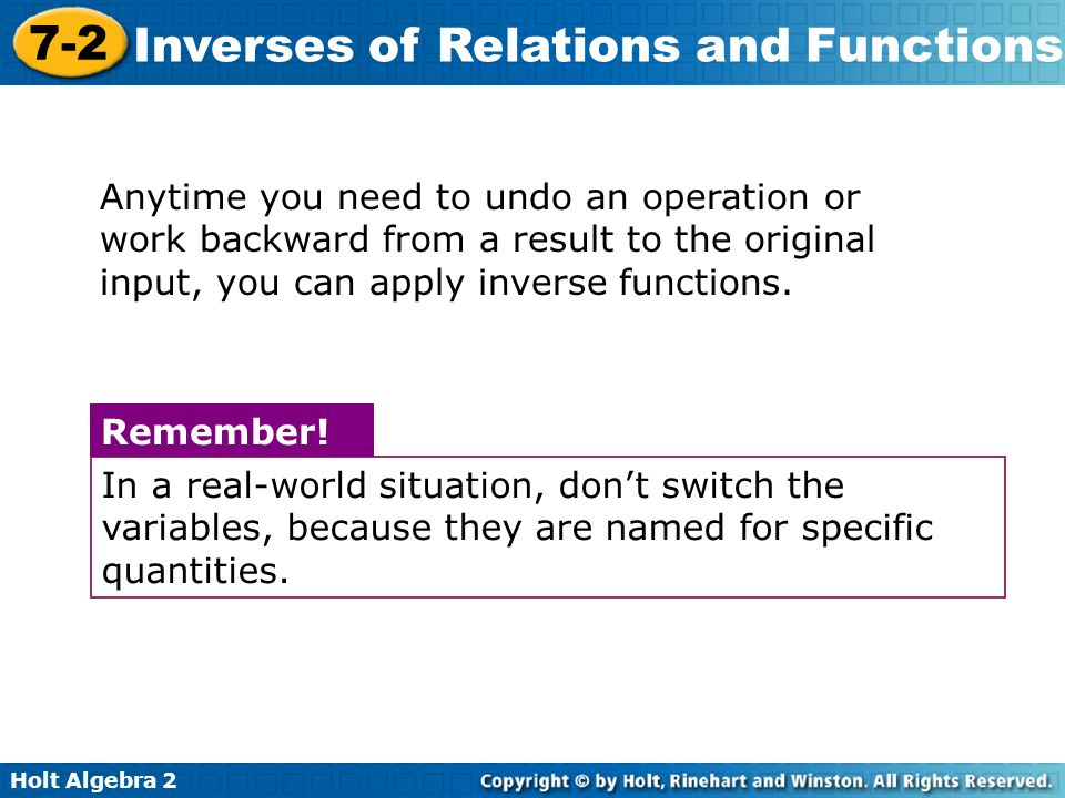 Inverse relations and functions algebra 2 worksheet