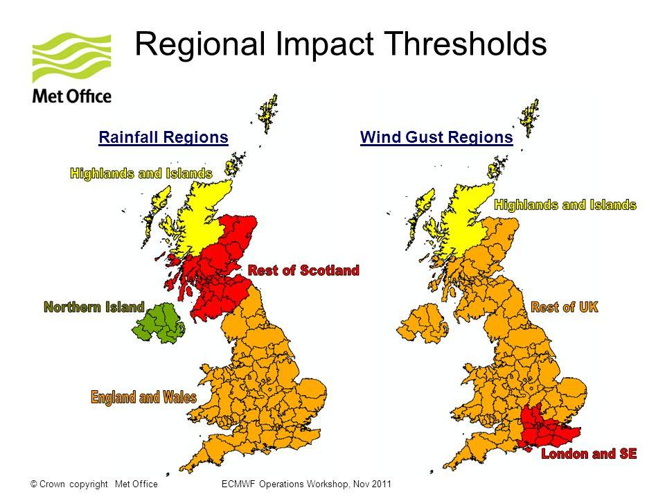 Regional Impact Thresholds