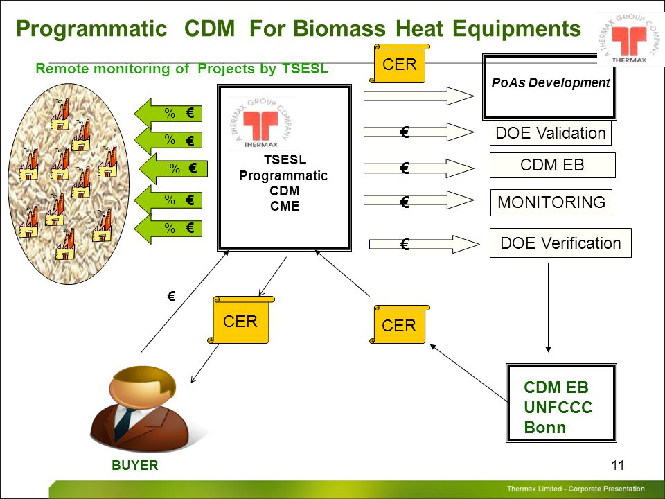 Programmatic CDM For Biomass Heat Equipments