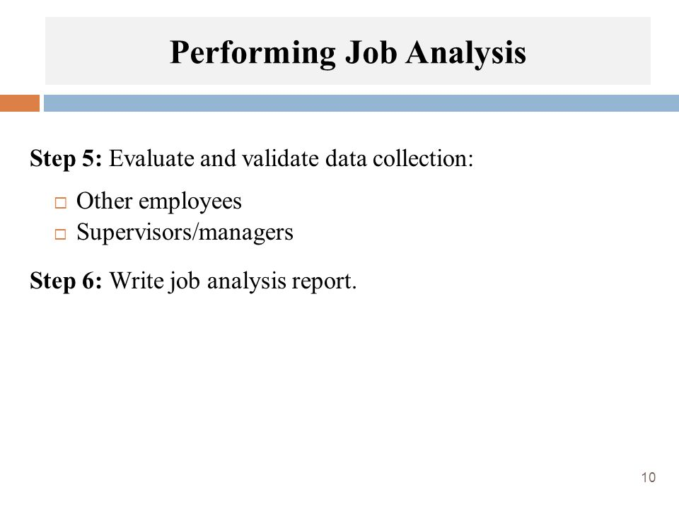 Chapter  Job Analysis  Ppt Video Online Download