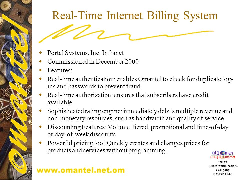 Real-Time Internet Billing System