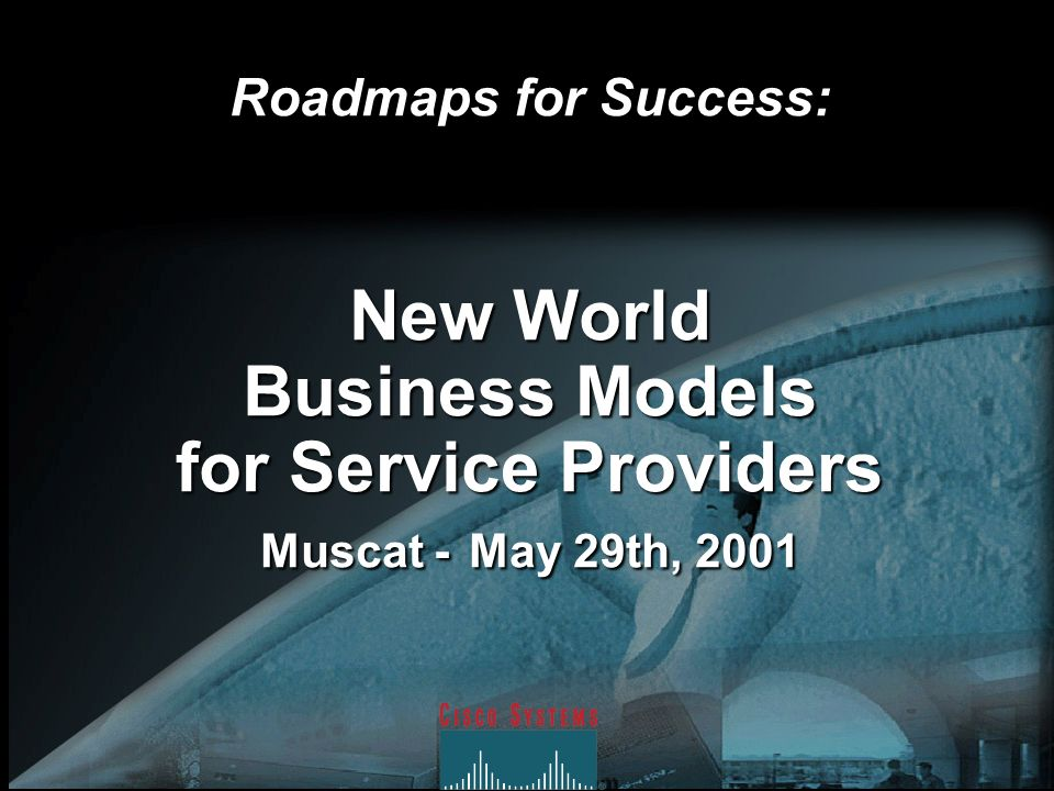 New World Business Models for Service Providers