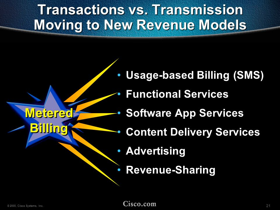 Transactions vs. Transmission Moving to New Revenue Models