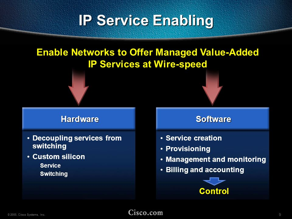 Enable Networks to Offer Managed Value-Added IP Services at Wire-speed