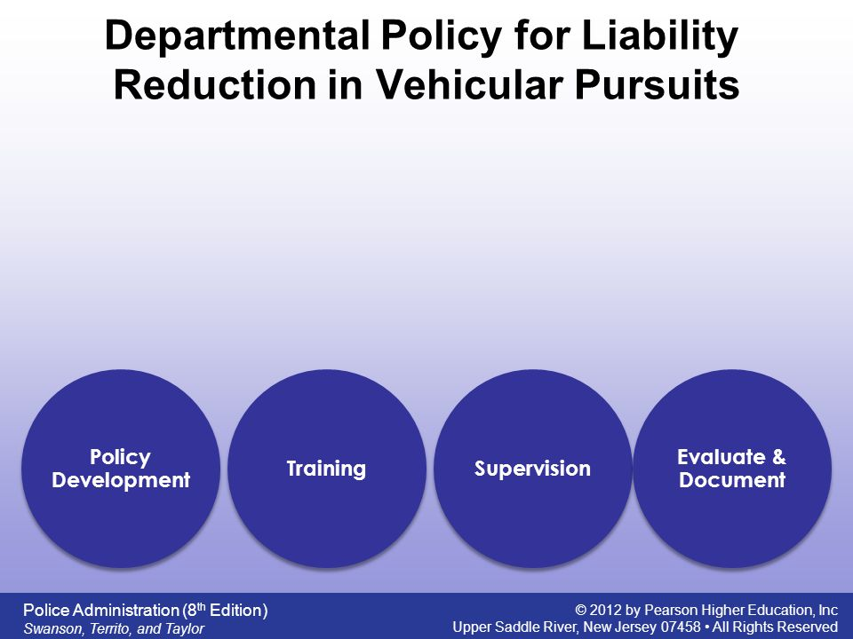 """police pursuit liability Court ruling increases police liability in high was immune from liability with a requirement that the police pursuit policy is """"promulgated."""