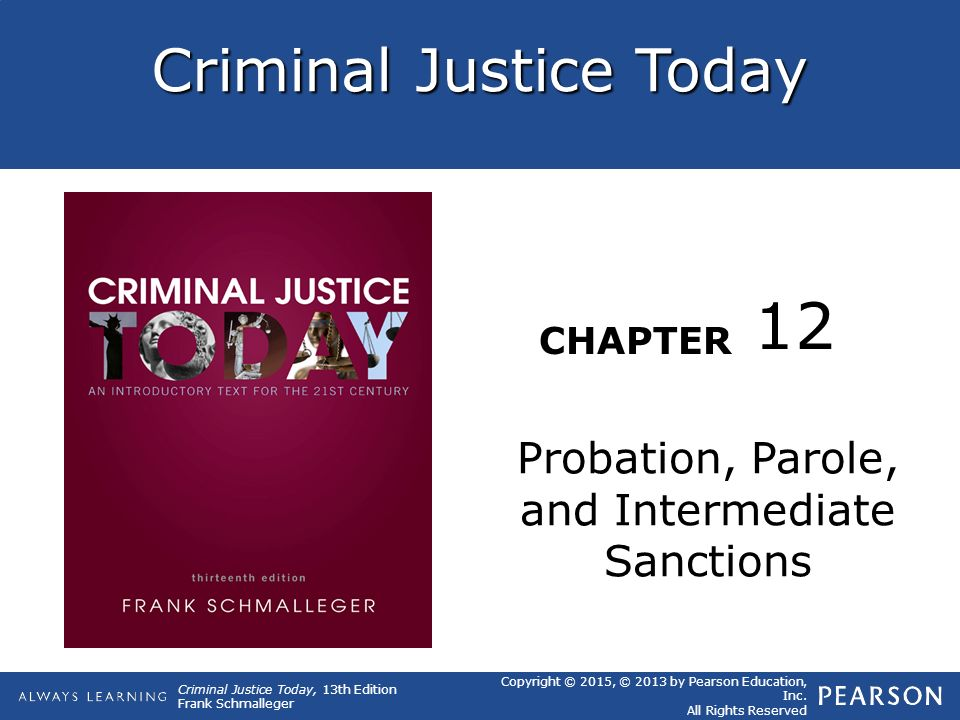 Types Of Intermediate Sanctions Criminal Justice