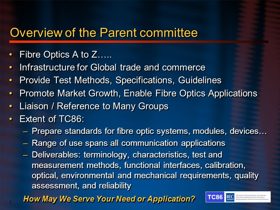 Overview of the Parent committee