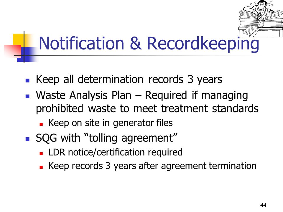 Land Disposal Restrictions - Ppt Video Online Download