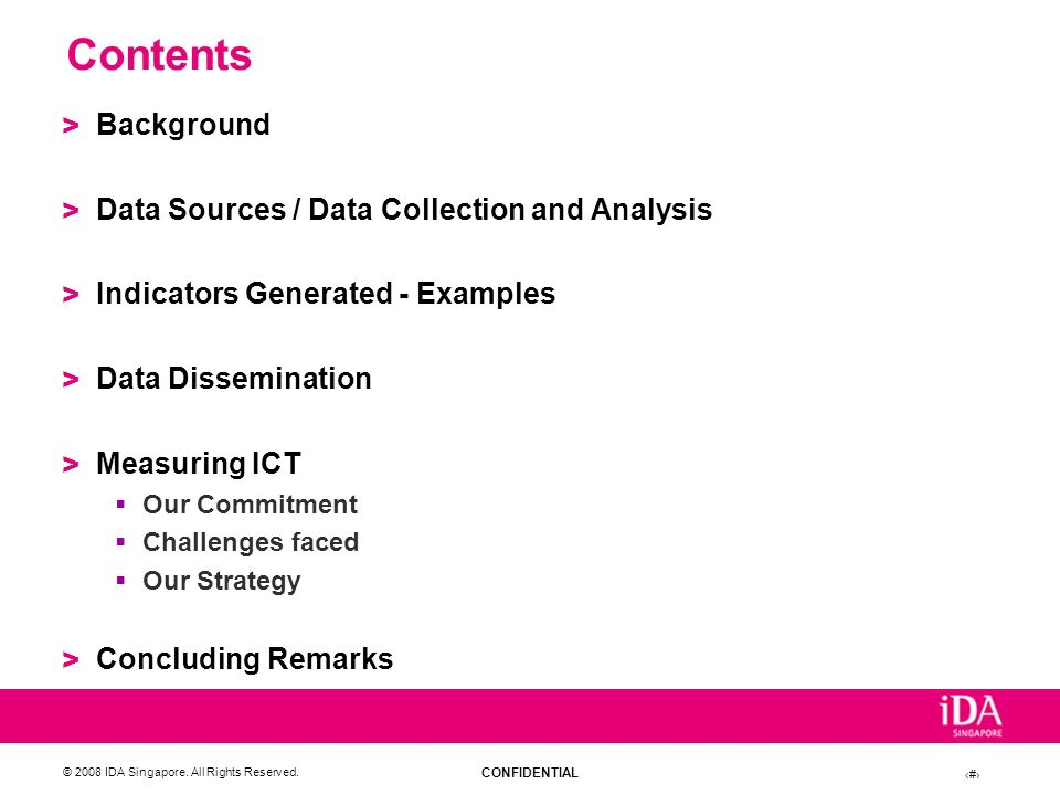 Contents Background Data Sources / Data Collection and Analysis
