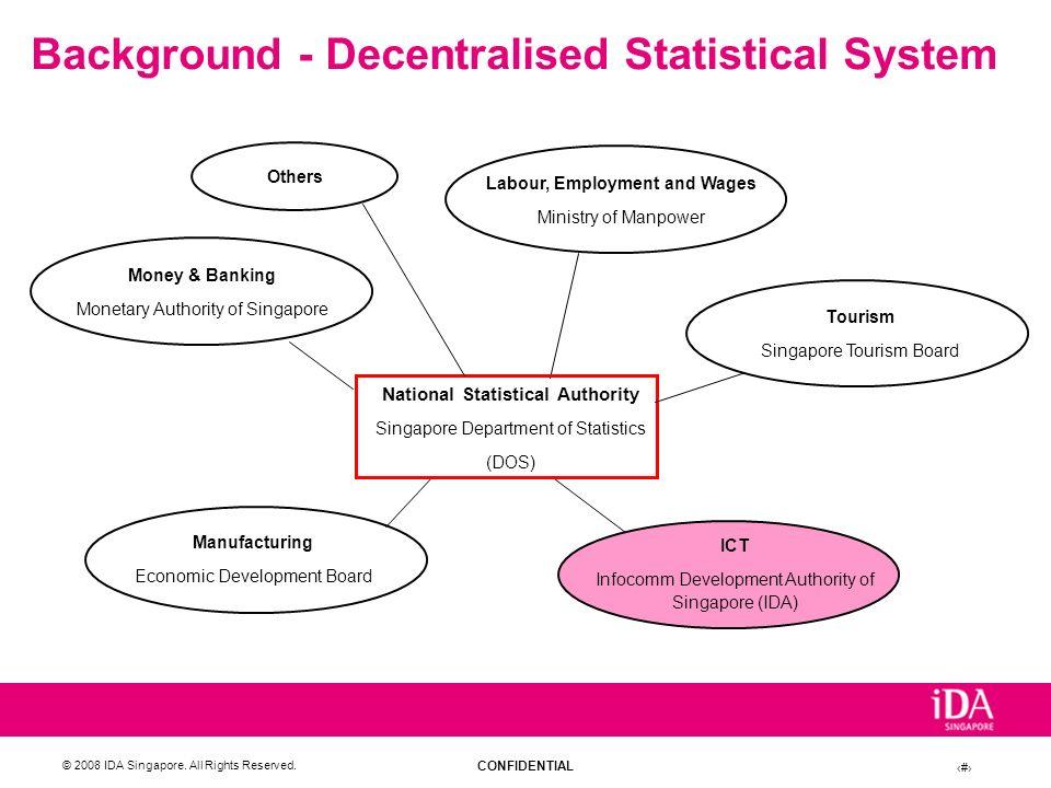 Background - Decentralised Statistical System