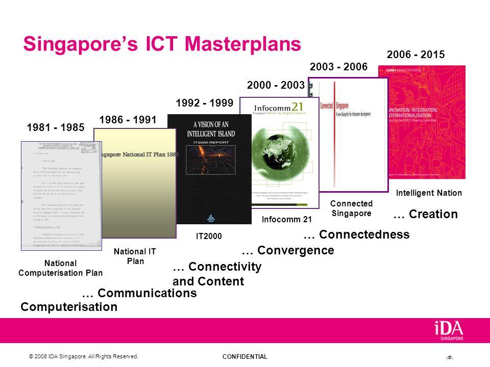 Singapore's ICT Masterplans