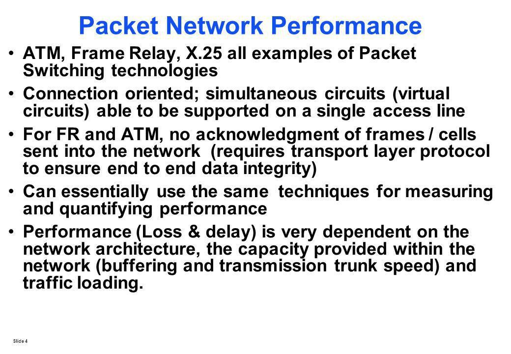Packet Network Performance