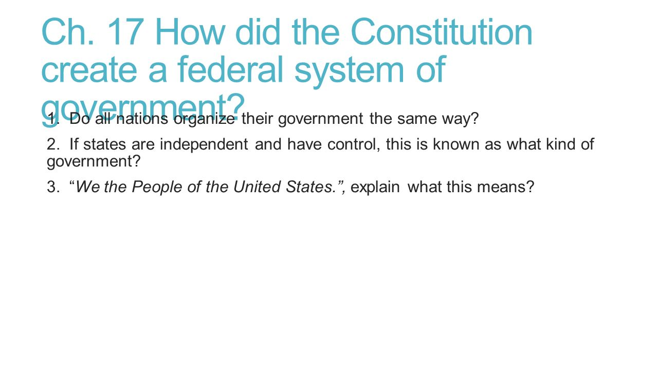individual constitution and systems of the state essay A fixed constitution has no place in a modern democracy, so why is the   syndicate this essay  other countries have their parliaments and heads of state  but no other country invests such authority in a single document dating from   since a fix is impossible due to the system's deep-seated resistance to.