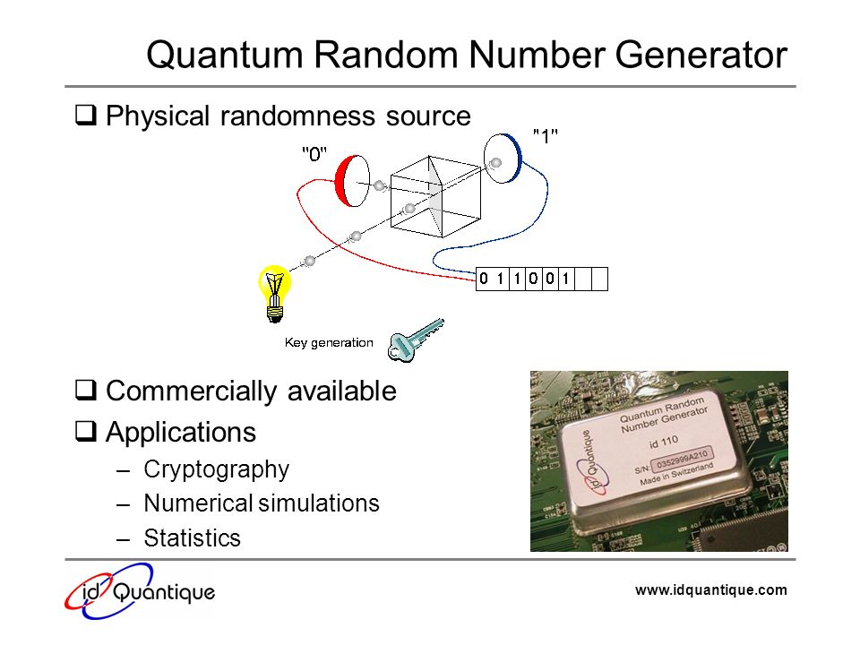 Quantum Random Number Generator