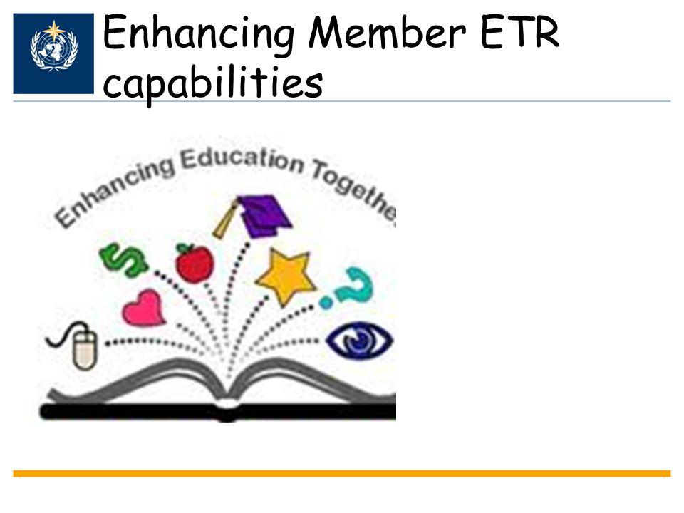 Enhancing Member ETR capabilities