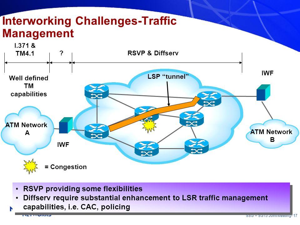 Interworking Challenges-Traffic Management