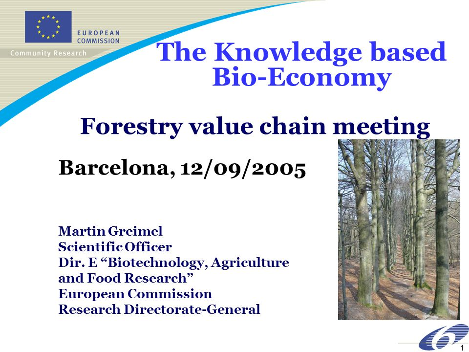 Forestry value chain meeting