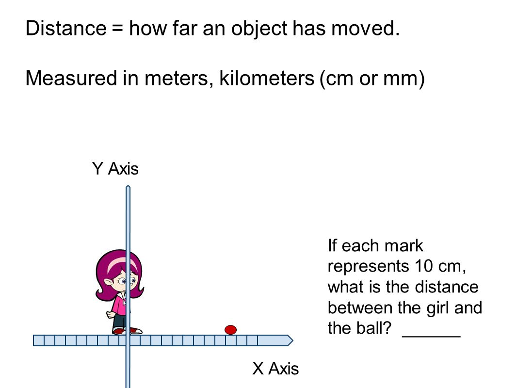 How Far Is A Meter : How do you know when an object is moving ppt video