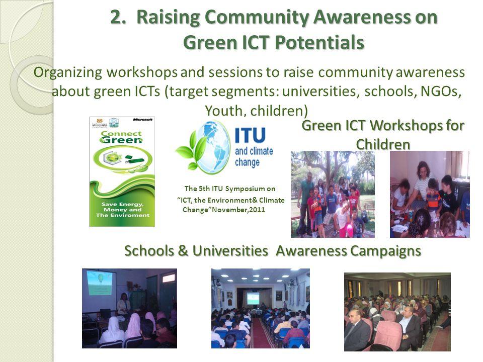 2. Raising Community Awareness on Green ICT Potentials
