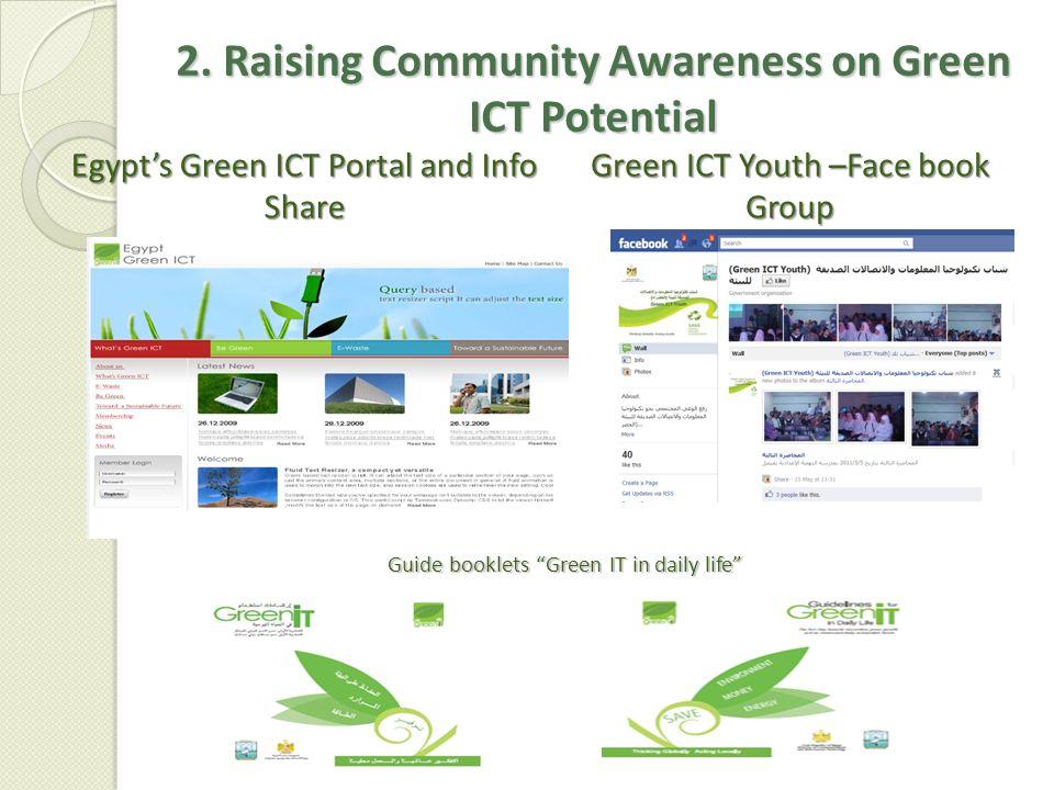 2. Raising Community Awareness on Green ICT Potential