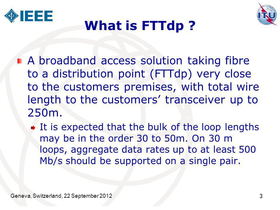 What is FTTdp
