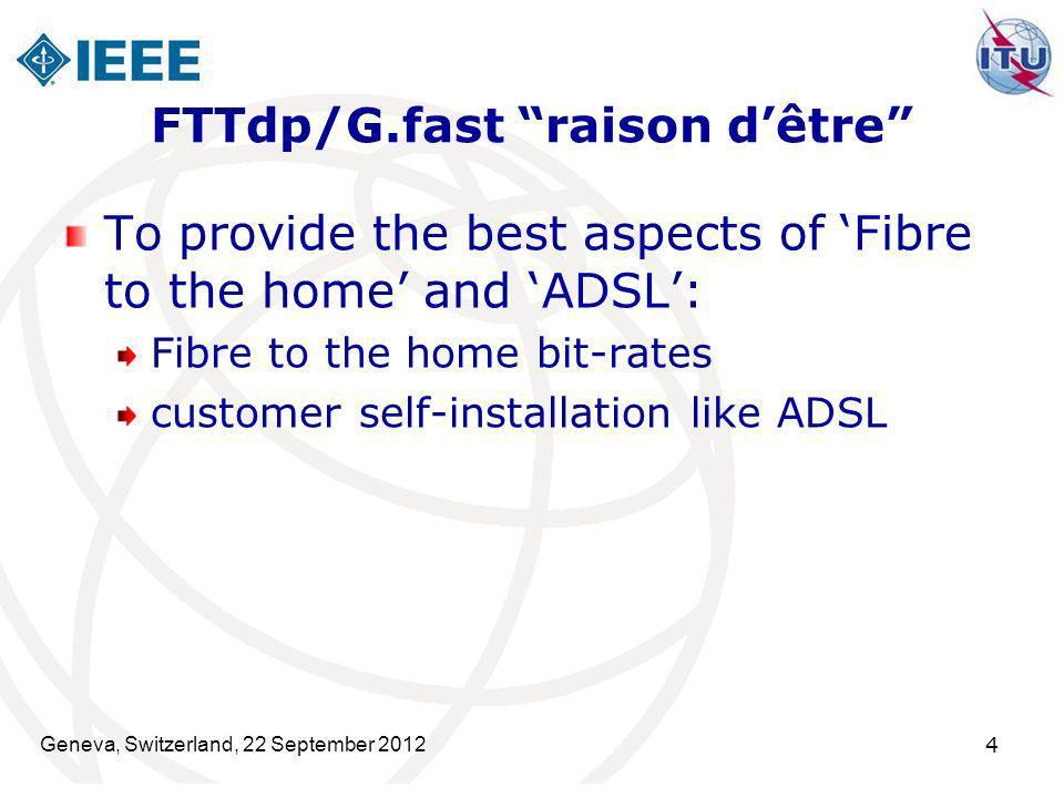 FTTdp/G.fast raison d'être