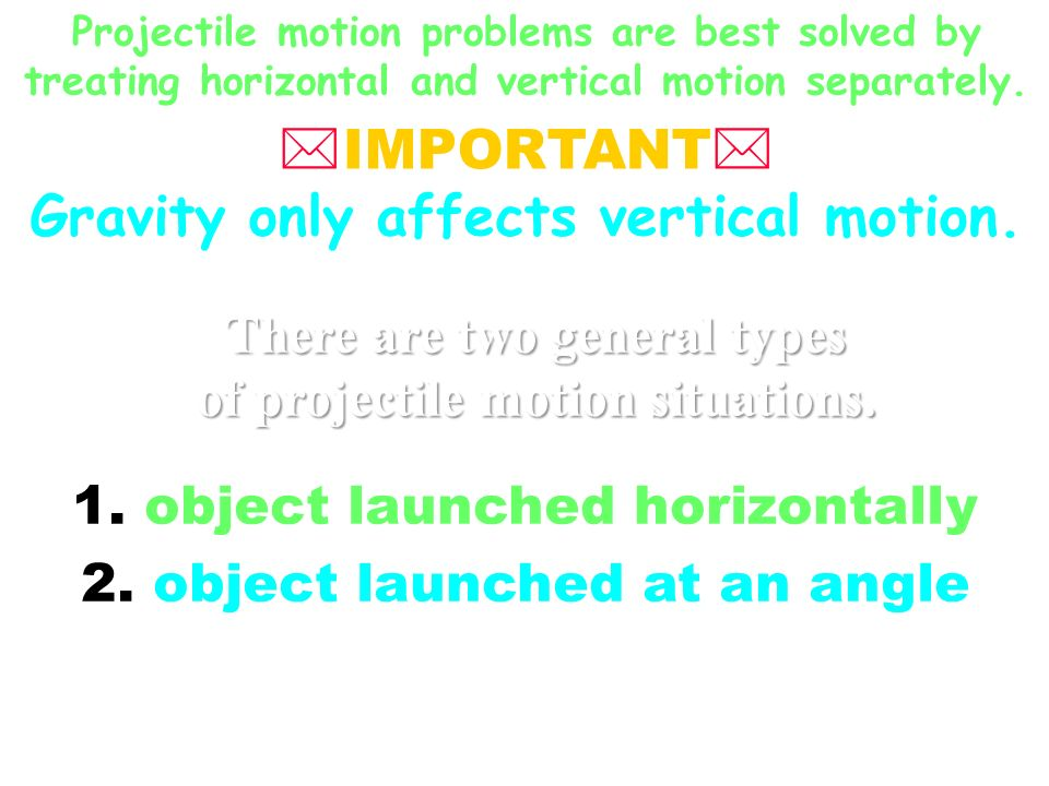 Gravity only affects vertical motion.
