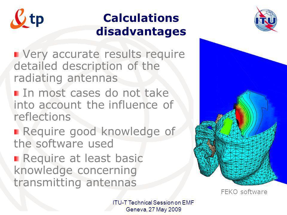 Calculations disadvantages