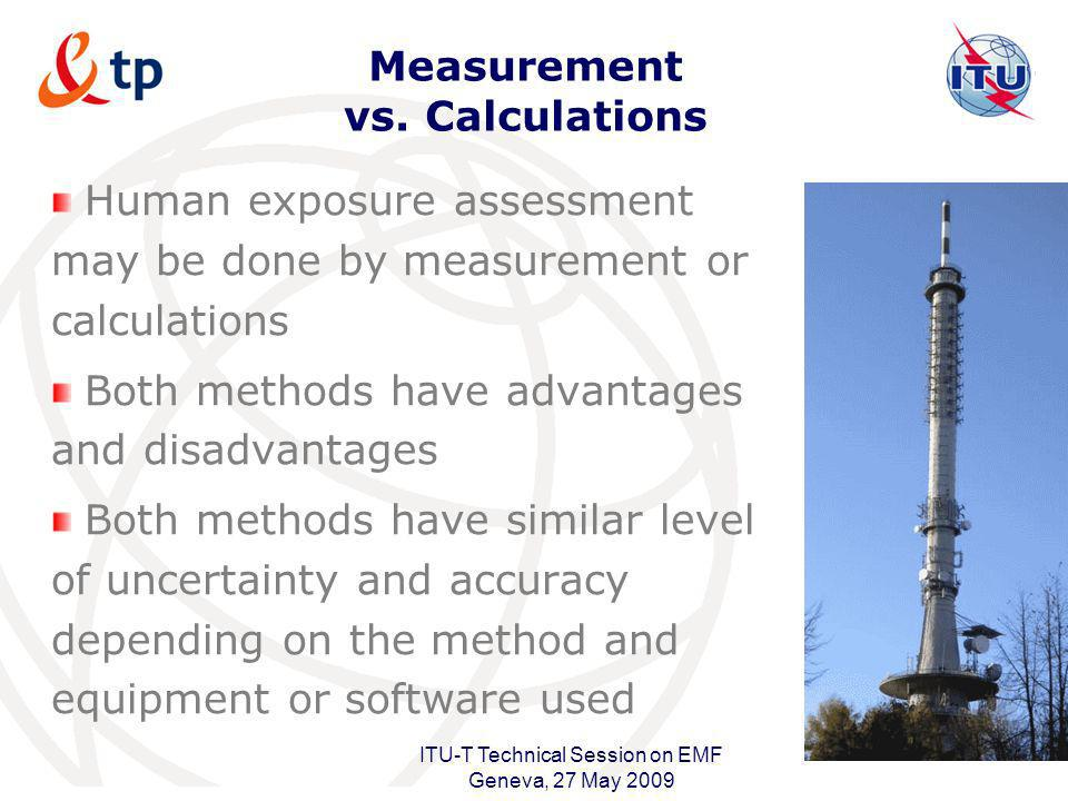 Measurement vs. Calculations