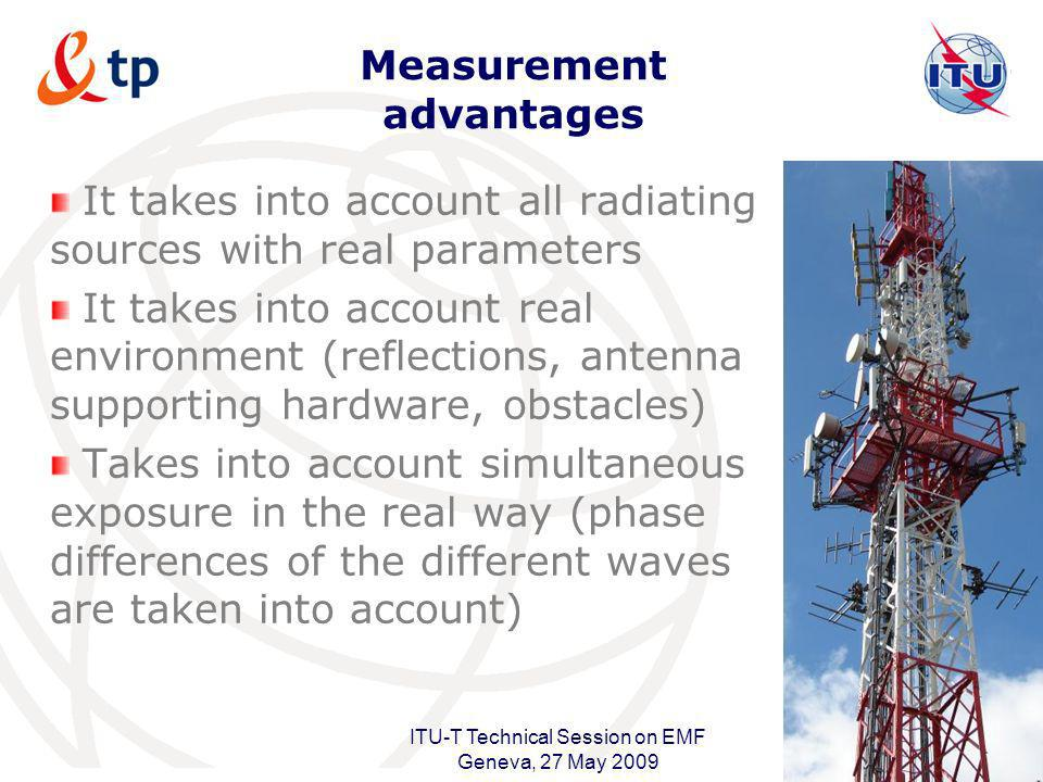 Measurement advantages