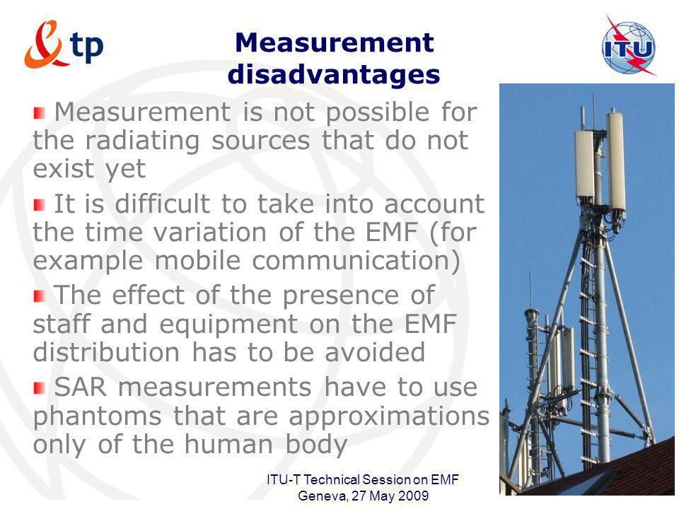 Measurement disadvantages
