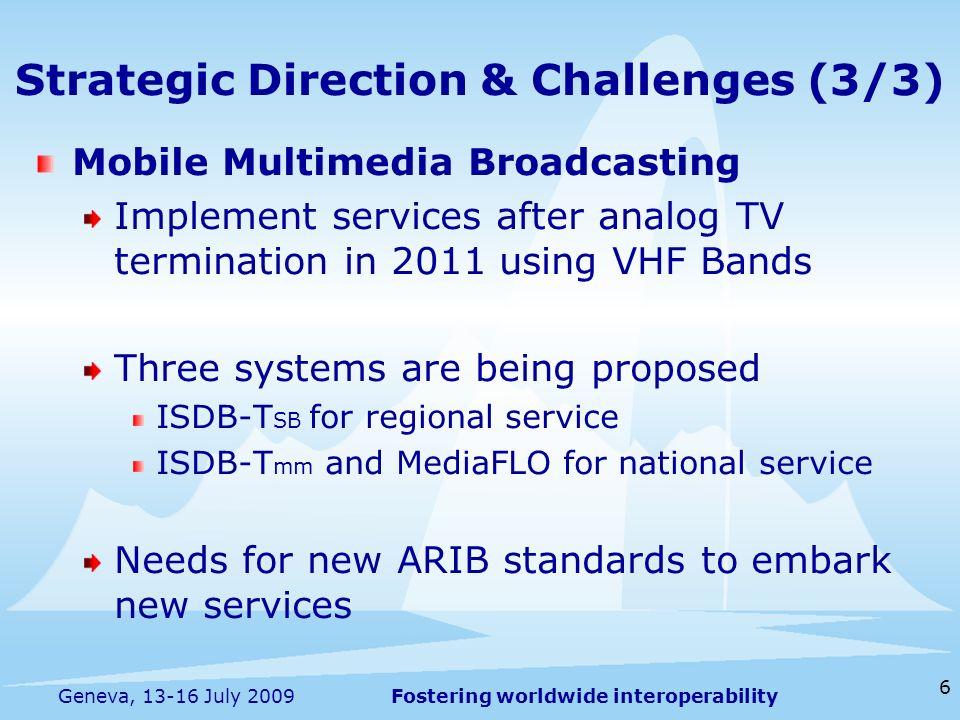 Strategic Direction & Challenges (3/3)