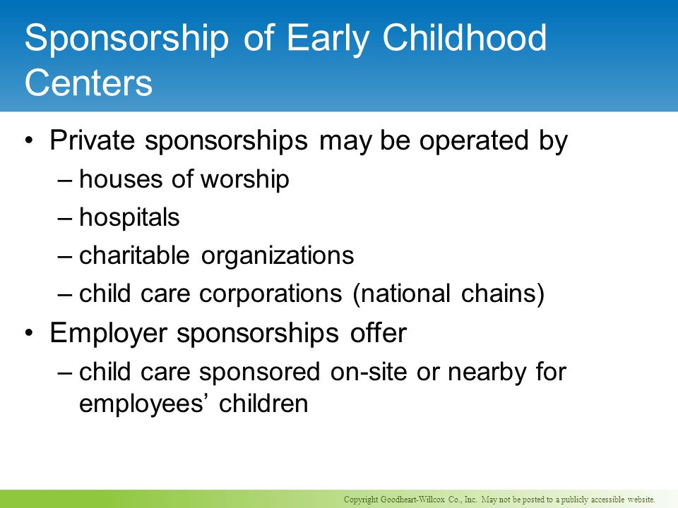 Employer-Supported Child Care Definition(s)