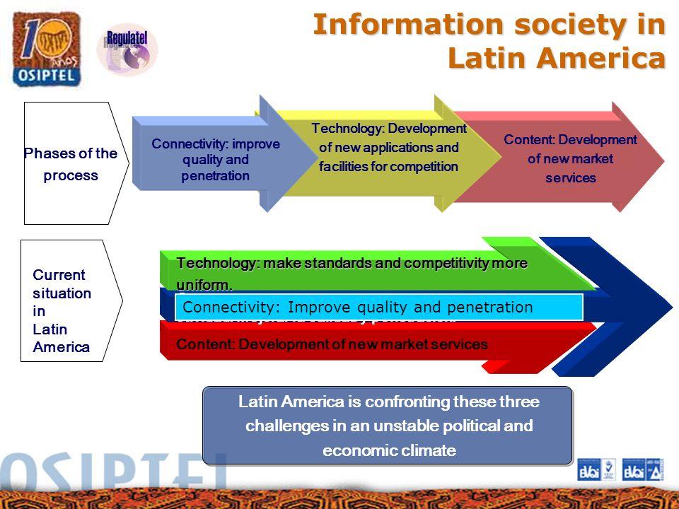 Information society in Latin America