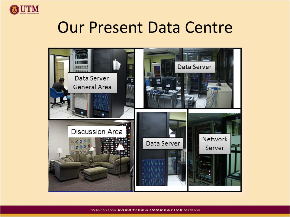 Our Present Data Centre
