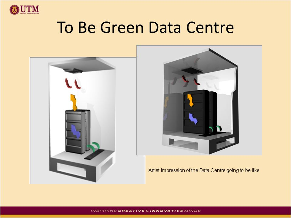 To Be Green Data Centre Artist impression of the Data Centre going to be like