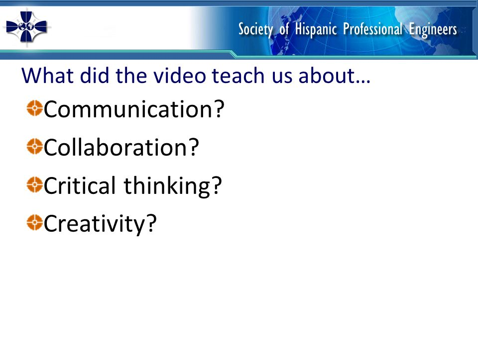 critical thinking videos for teaching Teaching critical thinking in english class with short documentary films image  my students were instructed to examine each film club video through a capstone lens, and tailor their analysis.