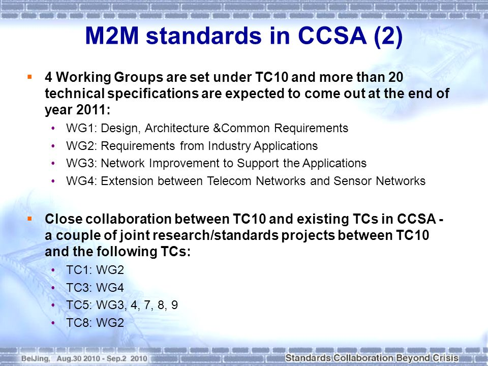 M2M standards in CCSA (2)