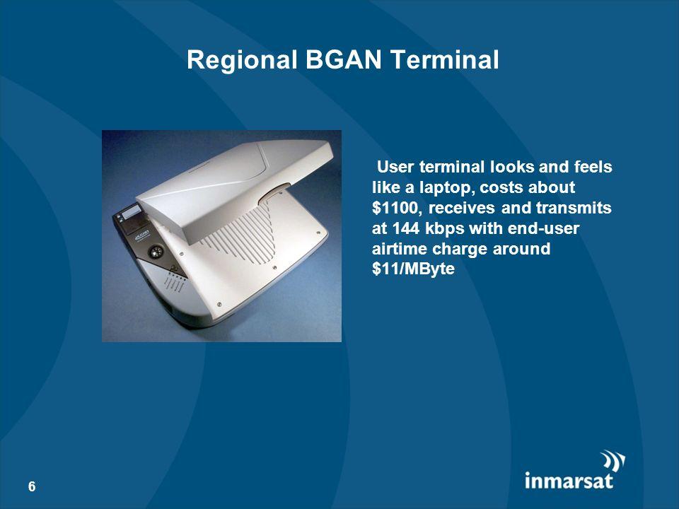 Regional BGAN Terminal