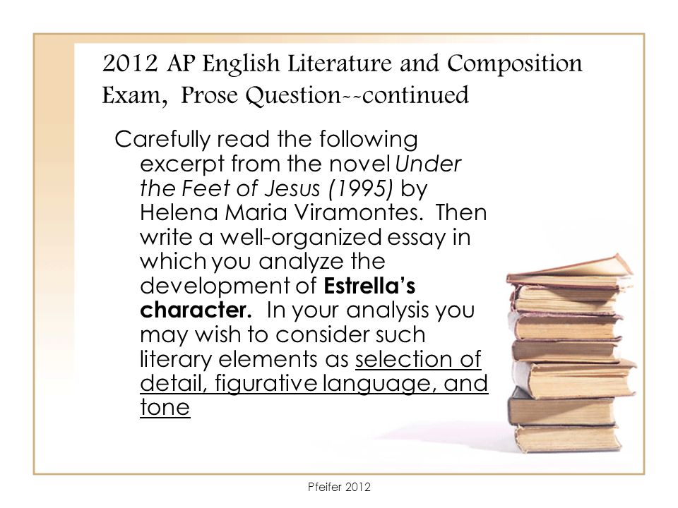 ap english literature prose essay questions The questions contained in this ap® english literature and composition  college board, advanced placement program, ap, ap  essay responses should be.