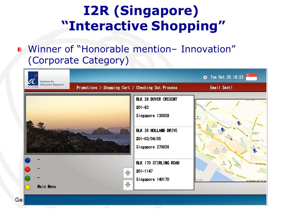 I2R (Singapore) Interactive Shopping