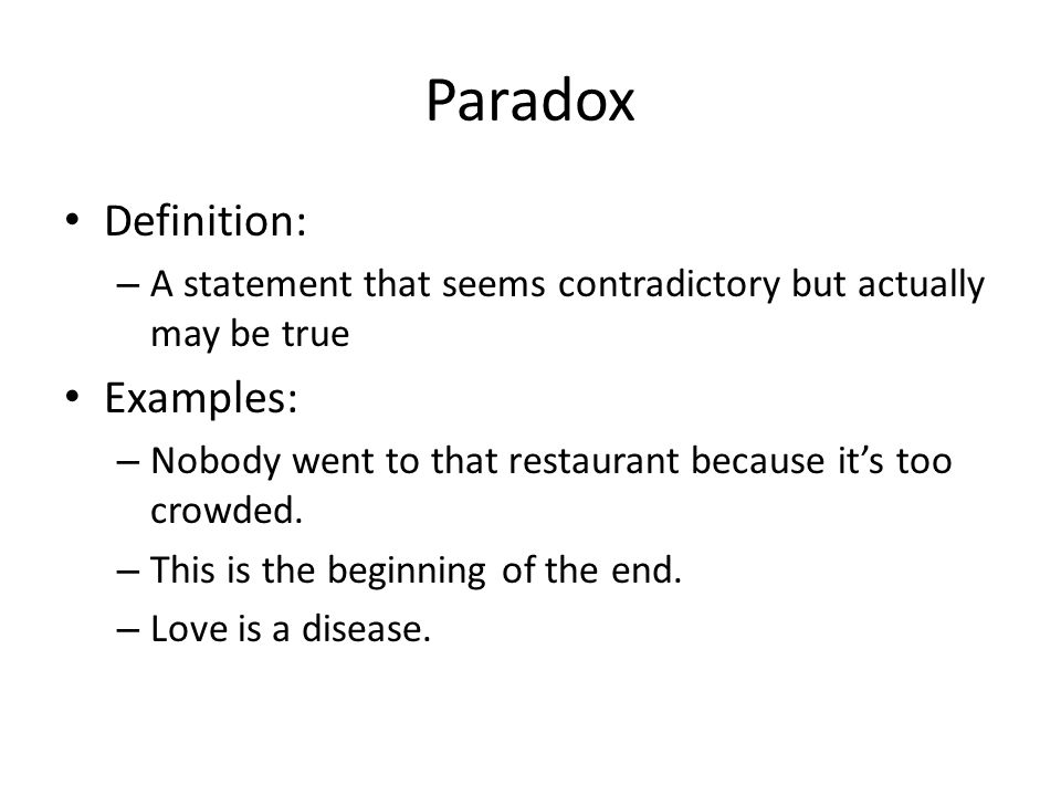 paradox examples for kids - photo #10