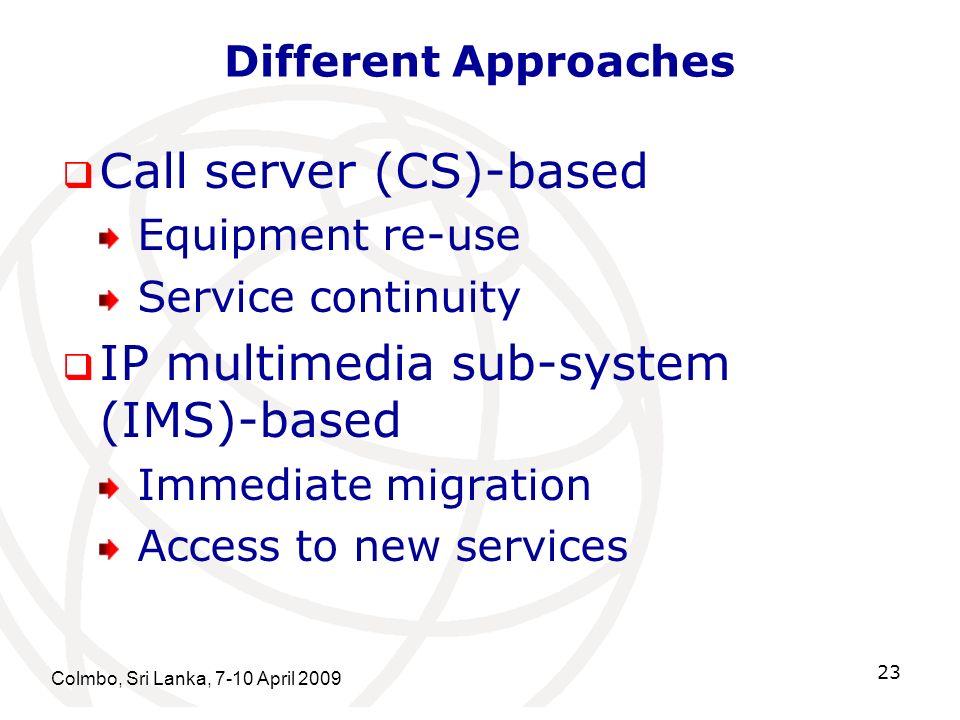 Call server (CS)-based