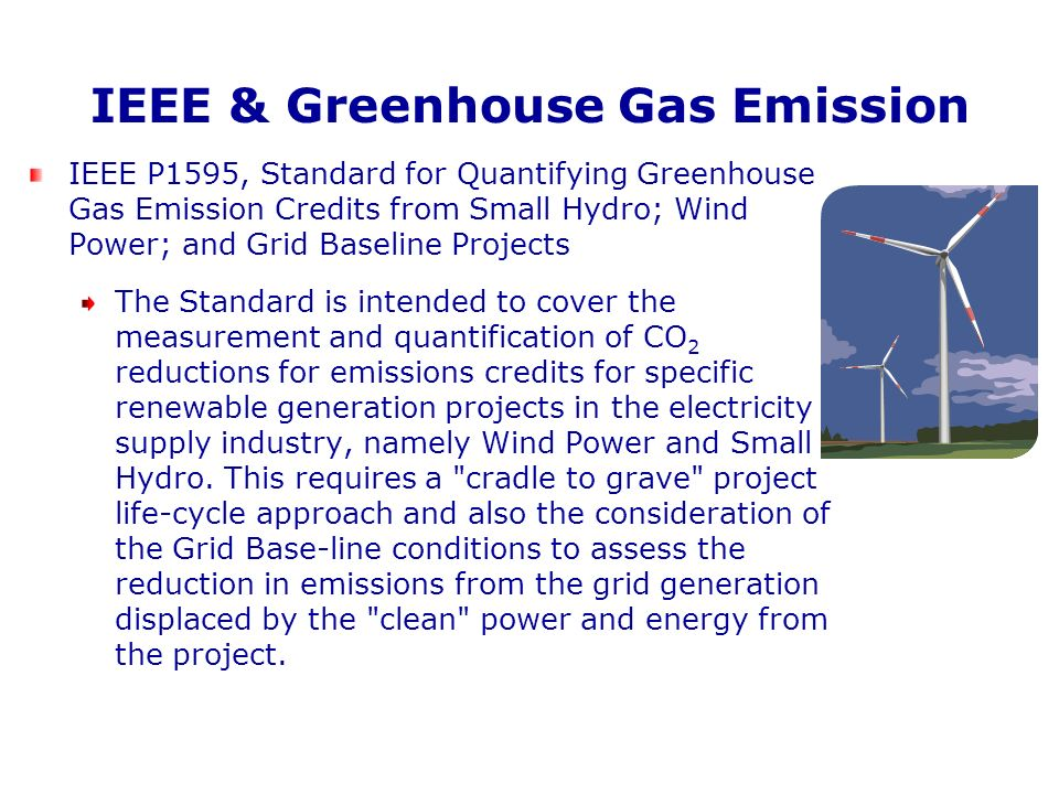 IEEE & Greenhouse Gas Emission
