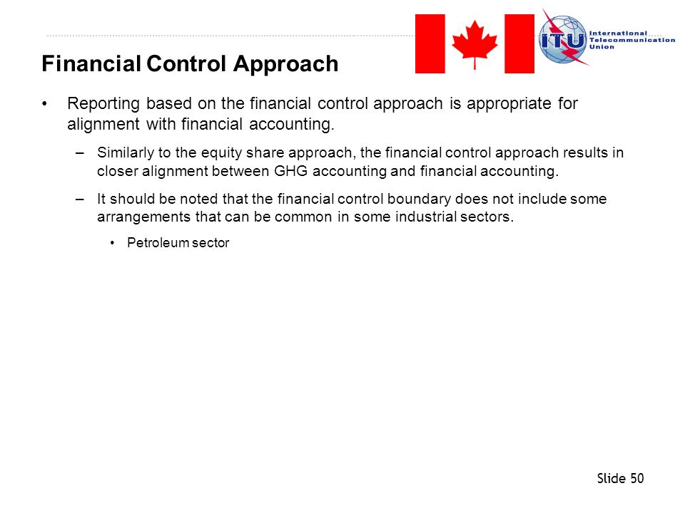 Financial Control Approach