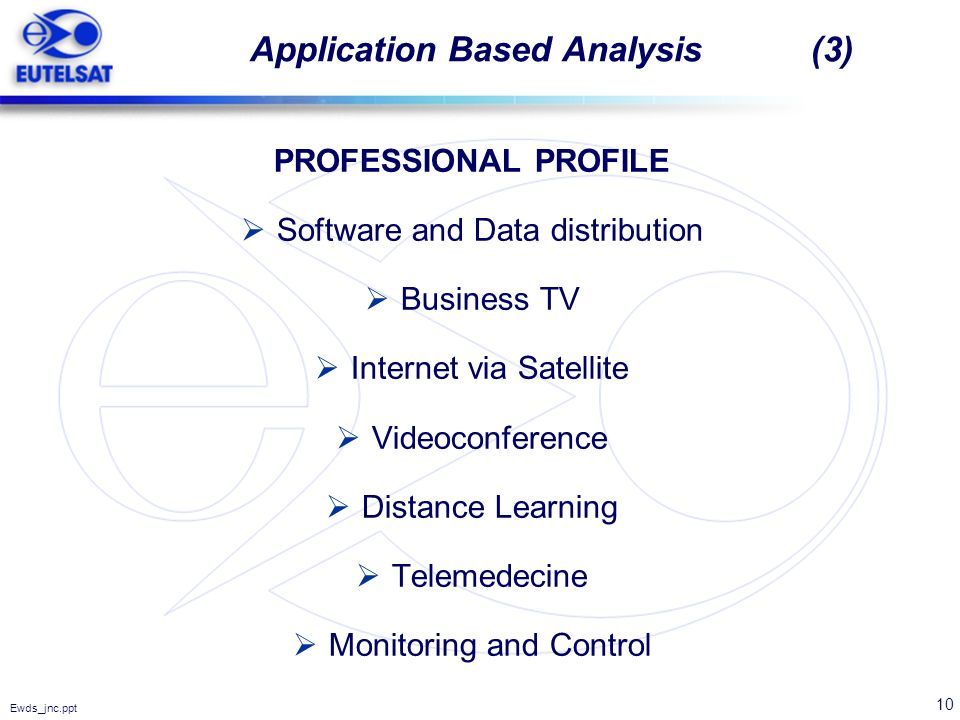 Application Based Analysis (3)
