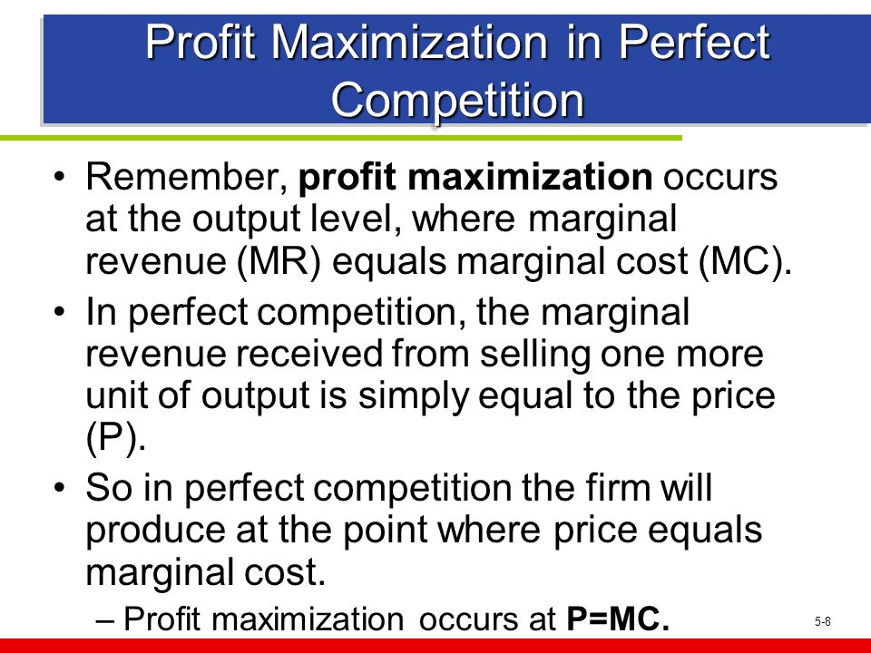topic profit maximization of a firm When marginal revenue is set equal to marginal cost profit maximization can  occur  the primary issue with profit maximizing firm trying to profit maximize is  that.