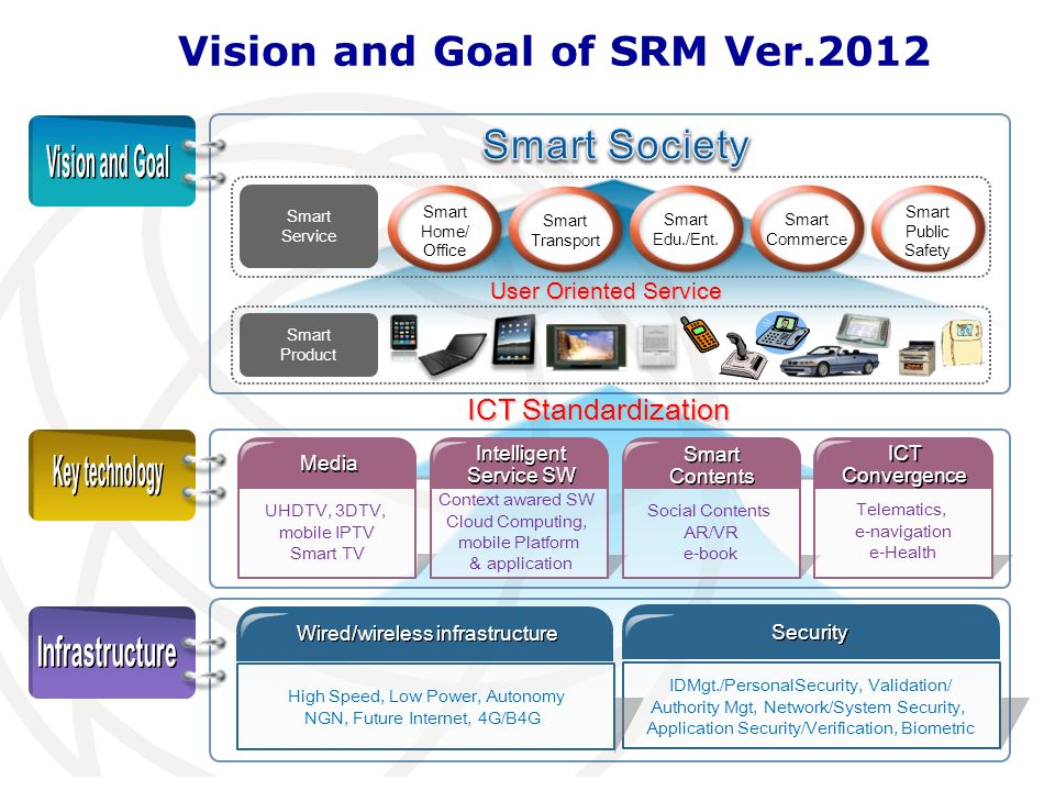 Vision and Goal of SRM Ver.2012