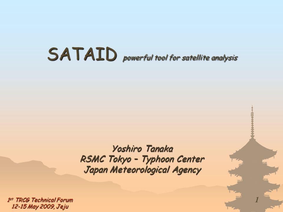 SATAID powerful tool for satellite analysis