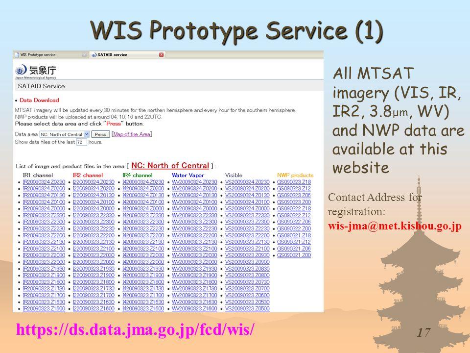 WIS Prototype Service (1)